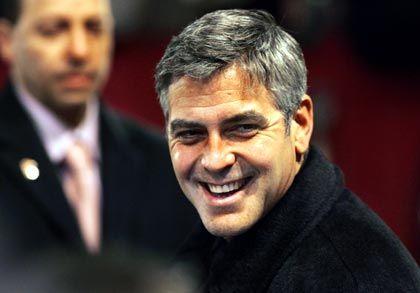 """War im letzten Jahr da: George Clooney, der diesmal in """"The Good German"""" von Steven Soderbergh mitspielt"""