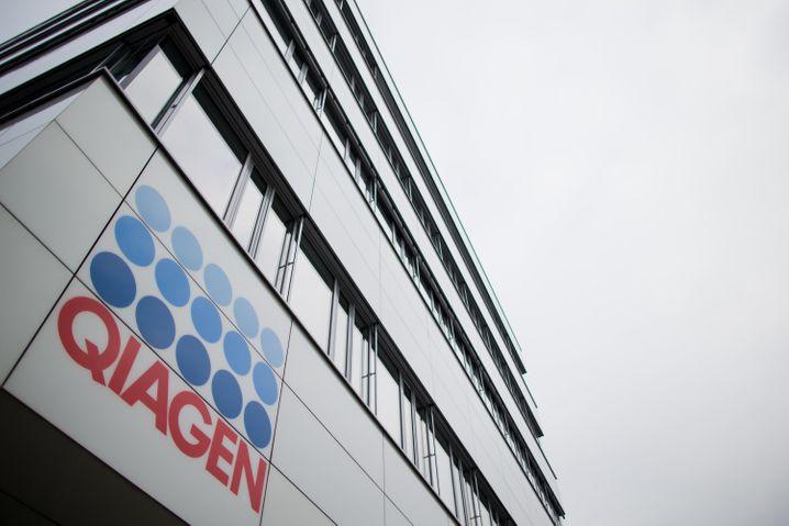 Qiagen-Zentrale in Hilden