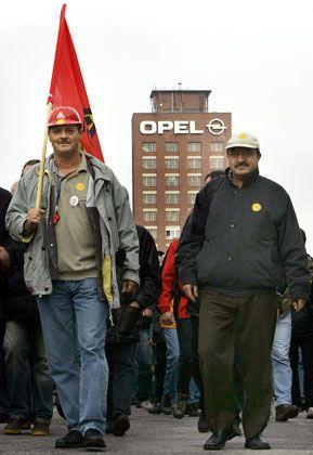 Schwierige Lage: Die Opel-Mitarbeiter deuten Zugeständnisse an