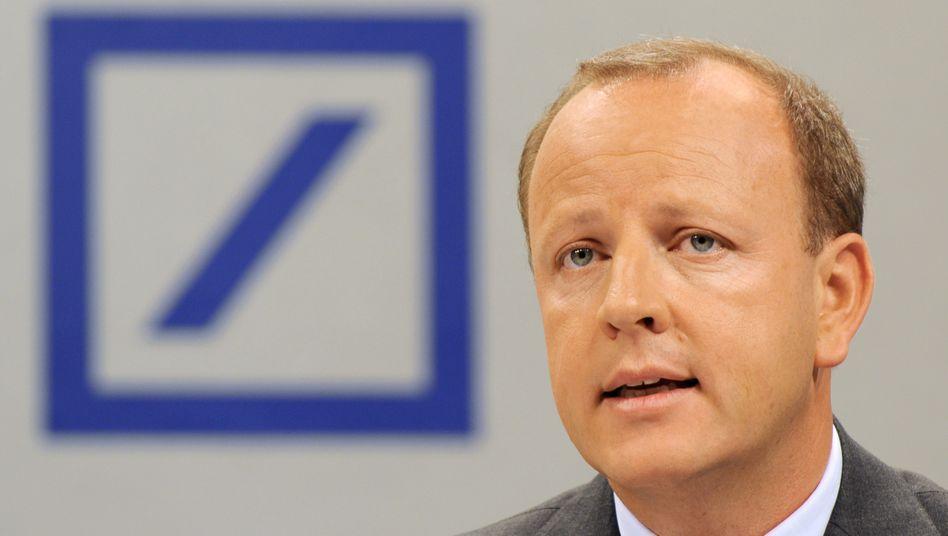 So nicht: Stefan Krause, hier noch als Finanzvorstand in Diensten der Deutschen Bank, hat Faraday Future verlassen.
