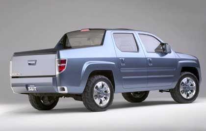 Limousine mit offenem Kofferraum: Die Honda-Studie SUT