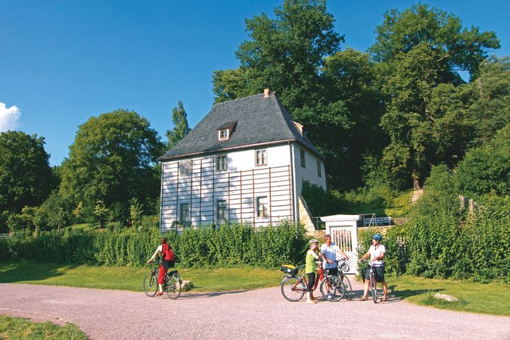 Teil des UNESCO-Welterbes: Goethes Gartenhaus an der Ilm