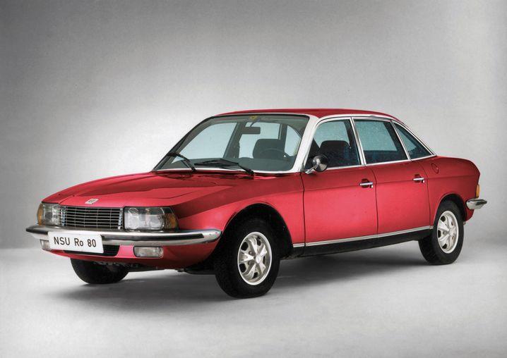 Unerwartetes Comeback: Unter der Marke NSU stellt Volkswagen seit einigen Jahren wieder Autos her, unter anderem diese Retro-Neuauflage des Ro 80