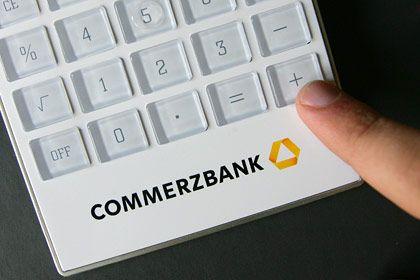 Schwierigkeiten noch nicht überwunden: Die Commerzbank kämpft mit zunehmenden Kreditausfällen