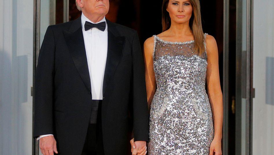 Einsicht? Donald Trump, hier mit Gattin Melania.