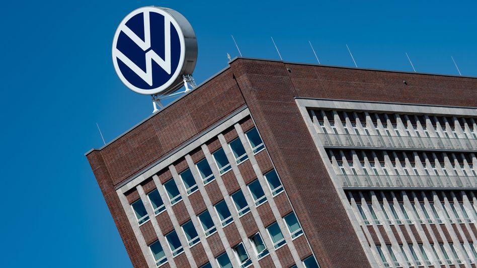Volkswagen-Hochhaus in Wolfsburg