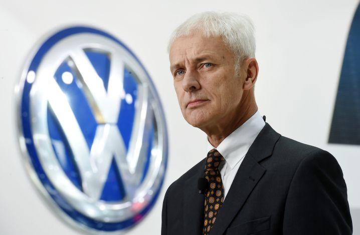 """VW-Konzernchef Matthias Müller: Um Elektroautos zum Durchbruch zu verhelfen, braucht es ein """"stimmiges Gesamtpaket"""""""