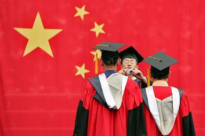 Universitätsexpansion: In China sind derzeit mindestens 50 neue Universitäten in Bau oder Planung. Gleichzeitig fördern die Chinesen mit viel Geld 30 Eliteunis.