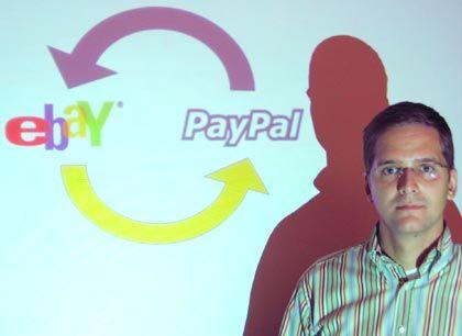 """""""Der Händler muss nicht wissen, von welcher Kreditkarte oder welchem Konto das Geld kommt"""" Paypal-Geschäftsführer Frerk-Malte Feller"""