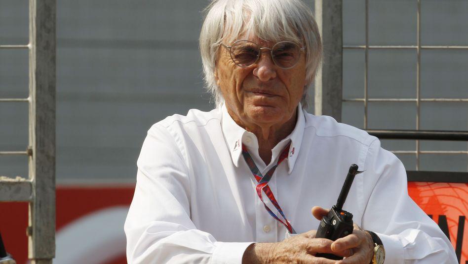Ist sich keiner Schuld bewusst: Bernie Ecclestone will nicht von der Spitze der Formel 1 weichen