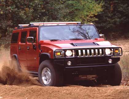 General-Motors-Modell Hummer H2: Für den Kriegsfall auch in Tarnfarben käuflich