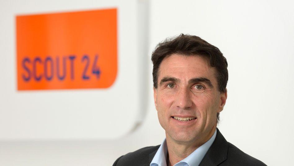 Greg Ellis ist seit 2014 Chef von Scout24