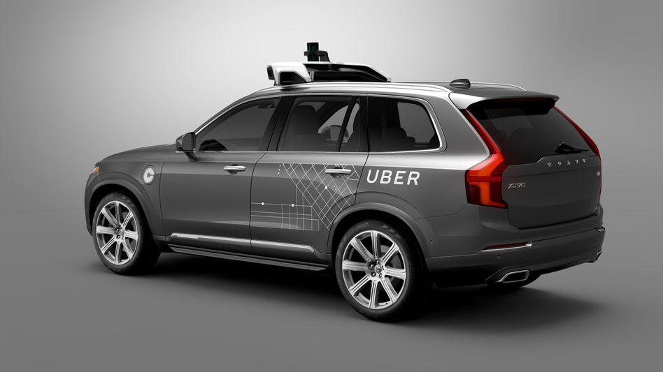 Volvo-Testfahrzeug für autonomes Fahren: In den USA gibt es nun nationsweite Richtlinien für das Design und den Einsatz solcher Autos