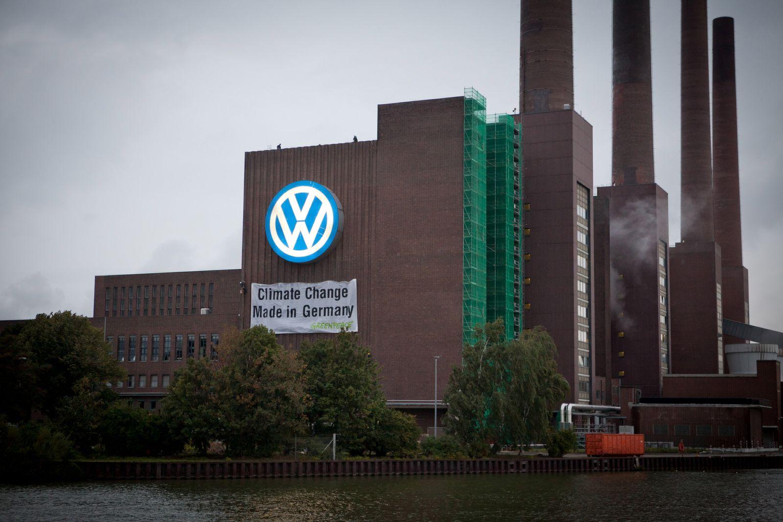 NICHT VERWENDEN Greenpeace / VW