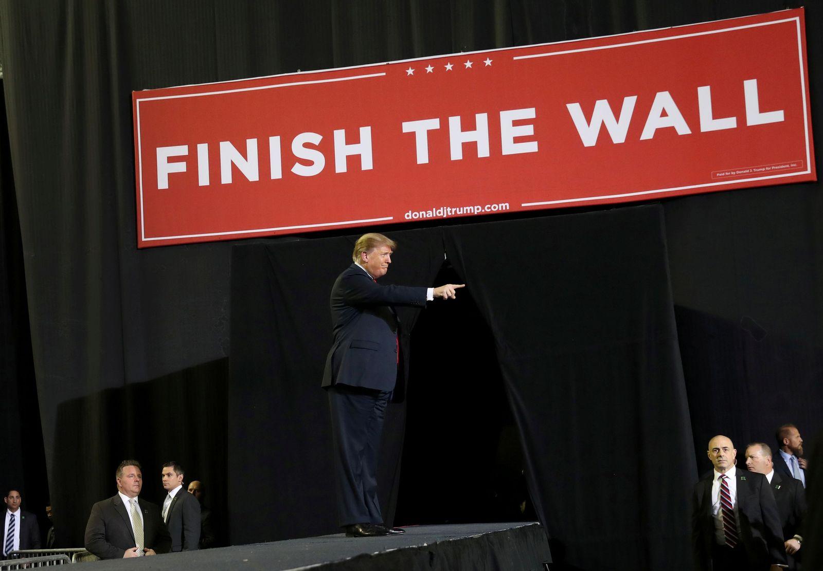 Trump Budget Mauer Mexiko