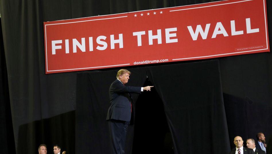 US-Präsident Donald Trump bei einer Veranstaltung in El Paso, Texas, im Februar 2019