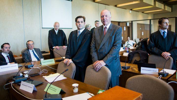 Urteile im Sal.-Oppenheim-Prozess: Das Strafmaß für von Oppenheim, Krockow, Pfundt und Janssen