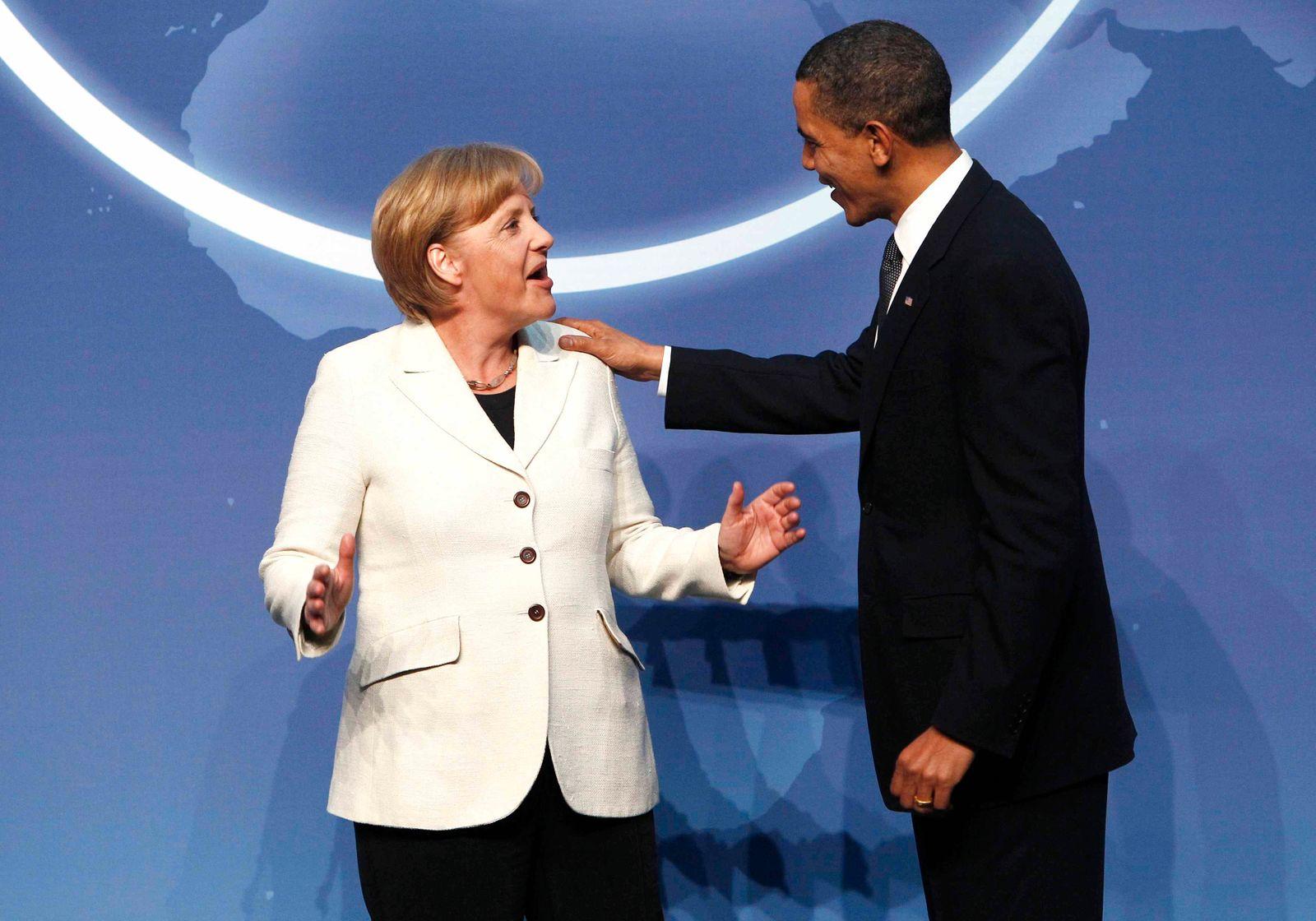 Merkel / Obama / Atomgipfel