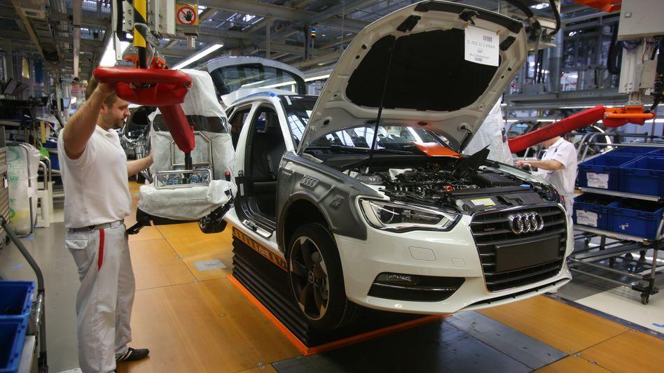 Produktion von Audi: Auch im Volkswagen-Reich läuft nicht mehr alles rund