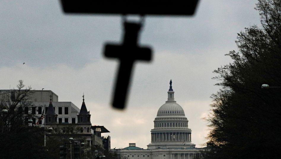 Auf ewig: Blick auf das Capitol in Washington.