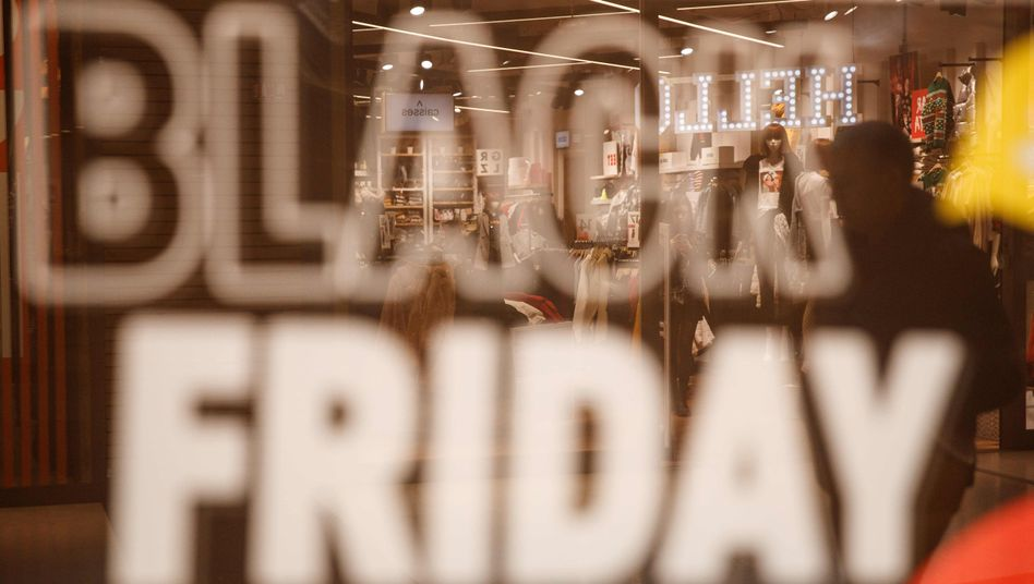 Black Friday: Power-Shopping bei den Online-Händlern