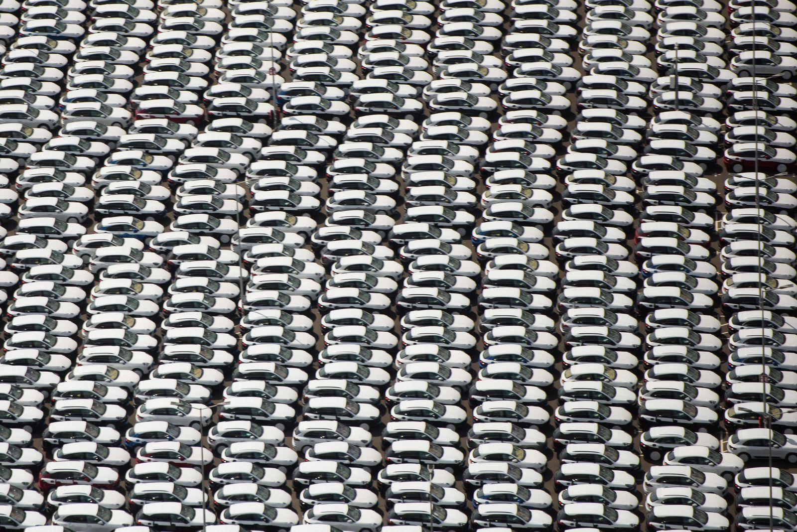 Porsche Cayenne/ Luftbild Porsche-Werk Leipzig