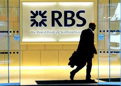 Finstere Zeiten: Die RBS dürfte Ende Februar einen Jahresverlust von rund 30 Milliarden Euro melden