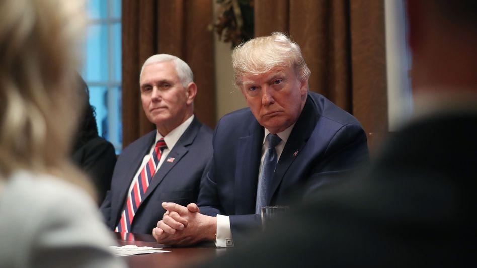 """Pence, Trump: Die """"Arbeit für das Land"""" bis zum 20. Januar fortsetzen"""