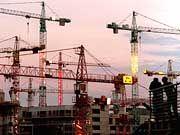 Technische Rezession nicht mehr unwahrscheinlich: Großbaustelle am Potsdamer Platz