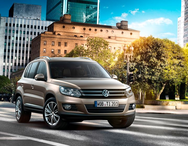 VW Tiguan: Mit den Verkaufszahlen des Kompakt-Geländegänger geht es diesmal steil bergab