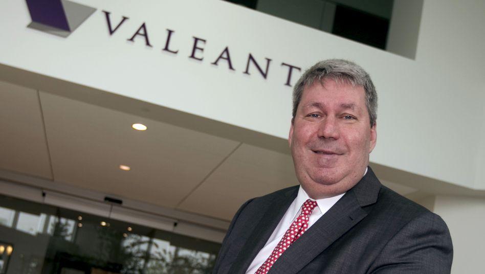 Muss gehen, bleibt allerdings, bis ein Nachfolger gefunden ist: Michael Pearson, bald Ex-CEO von Valeant