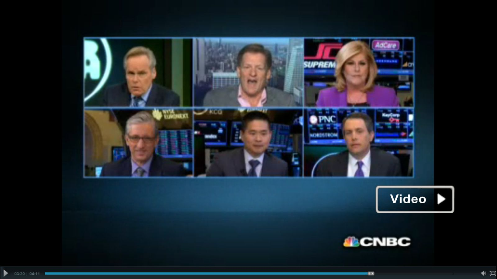 Video / The fight that stopped NYSE trading