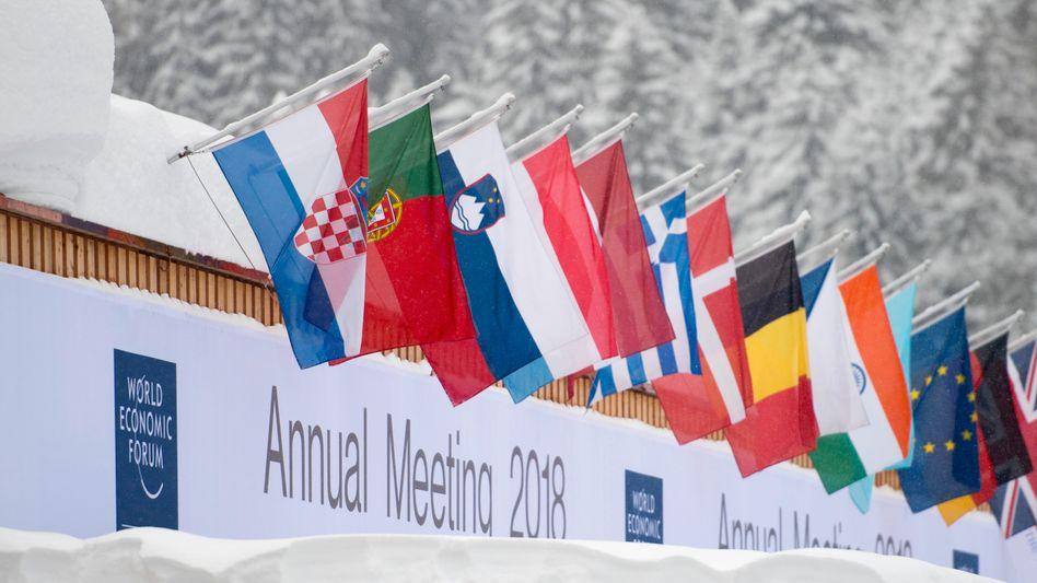 Weltwirtschaftsforum in Davos: Ende Januar treffen sich die Vertreter aus den G20-Ländern