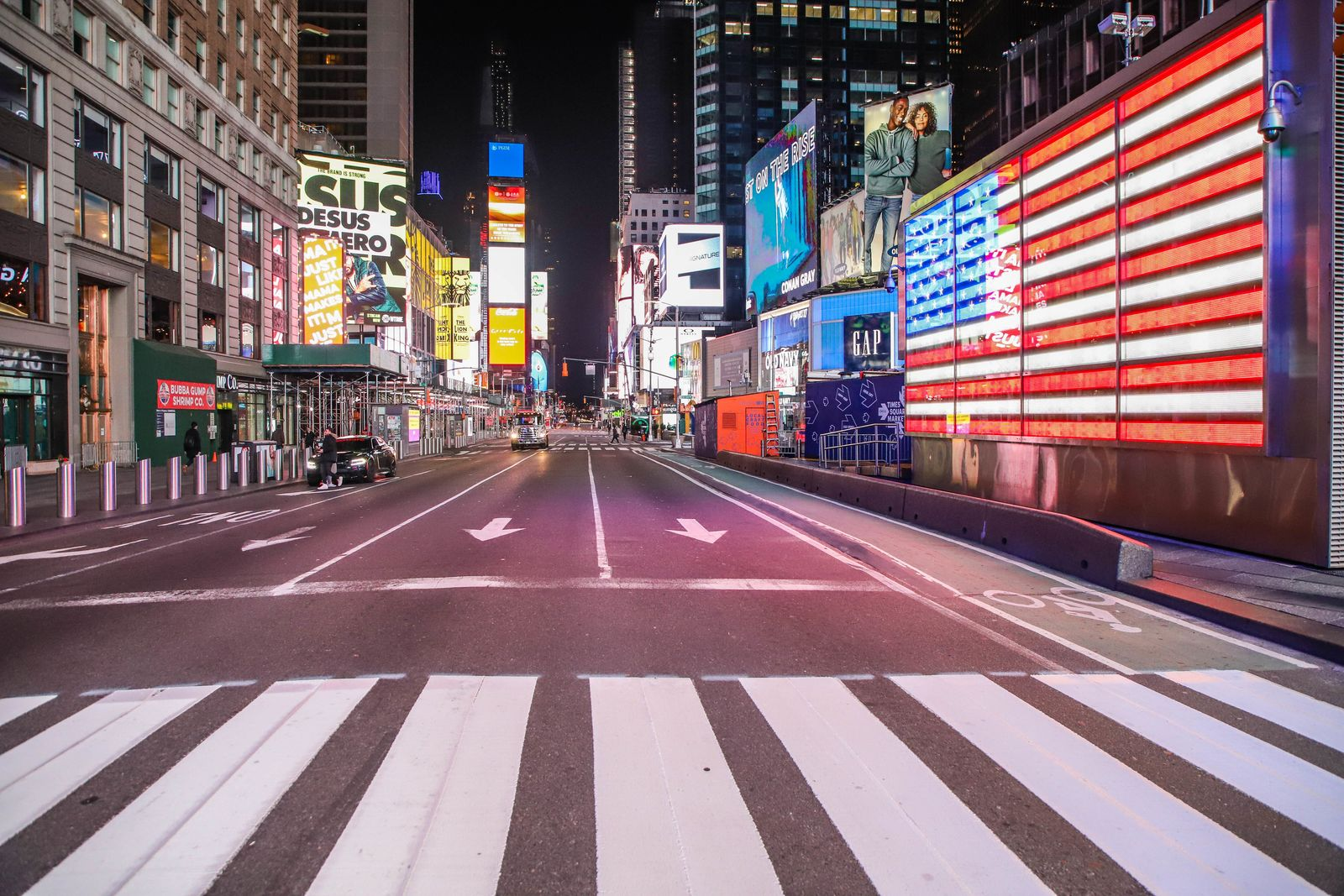Coronavirus - USA / Times Square