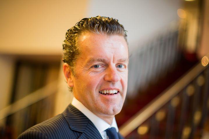 Börsengang war vorvorgestern, also schon lange her: Henning Kreke, Vorstandschef von Douglas.