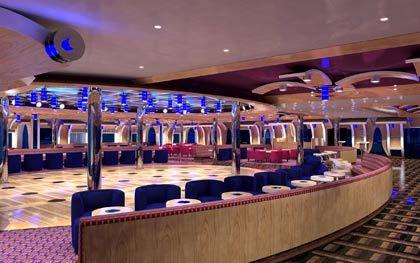 Die Grand Bar Elettra auf der Costa Luminosa