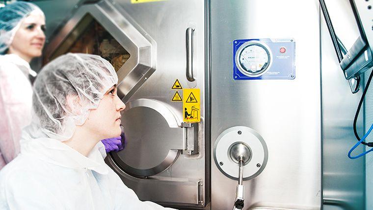 Strahlend: Im Labor arbeitet ITM mit radioaktiven Molekülen für die Krebstherapie