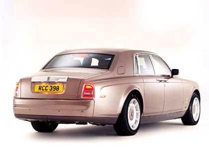Gewichts-Gigant: Der Rolls-Royce Phantom bringt stolze 2,6 Tonnen auf die Waage