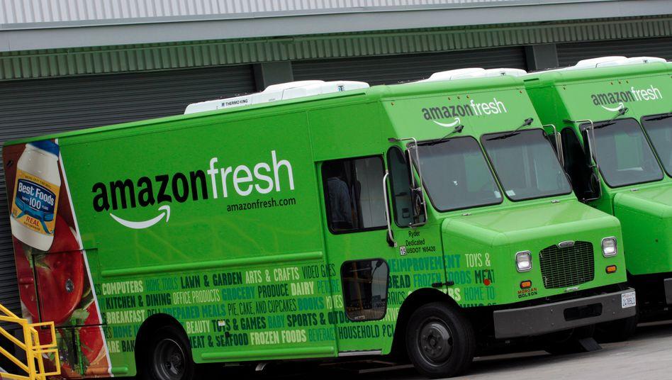 Lebensmittel-Lieferwagen von Amazon: WebVan lebt - nur unter anderem Namen