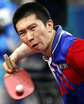 Meister an der Platte: Der Südkoreaner Seung Min Ryu wurde Olympiasieger im Tischtennis. Im Finale setzte sich der 22-Jährige überraschend gegen den Chinesen Wang Hao durch. Es ist die erste Goldmedaille im Tischtennis für Südkorea seit den Spielen 1988 in Seoul.
