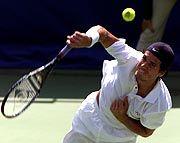 Als erster deutscher Tennisprofi seit Steffi Graf, die 1988 Gold holte, gewann Thomas Haas eine olympische Einzel-Medaille.