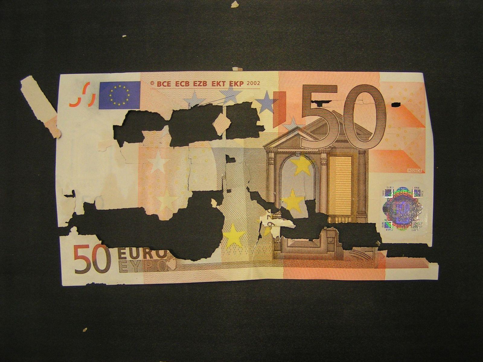 Banknoten / Euroschein / Geld / 50 Euro / Euroschein