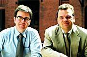 Stephan und Stefan: Rebbe und Kolle