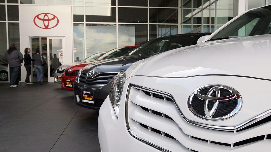 Toyota-Händler in Kalifornien: Zuletzt auch Lieferschwierigkeiten