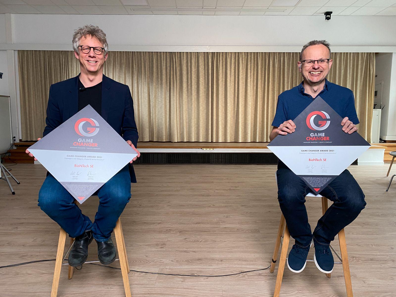 Game Changer 2021 / Sierk Poetting (links), Sean Marett / Bointech