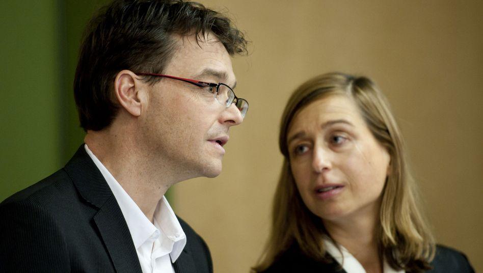 Will alles richtig gemacht haben: Markus Straub mit seiner Anwältin