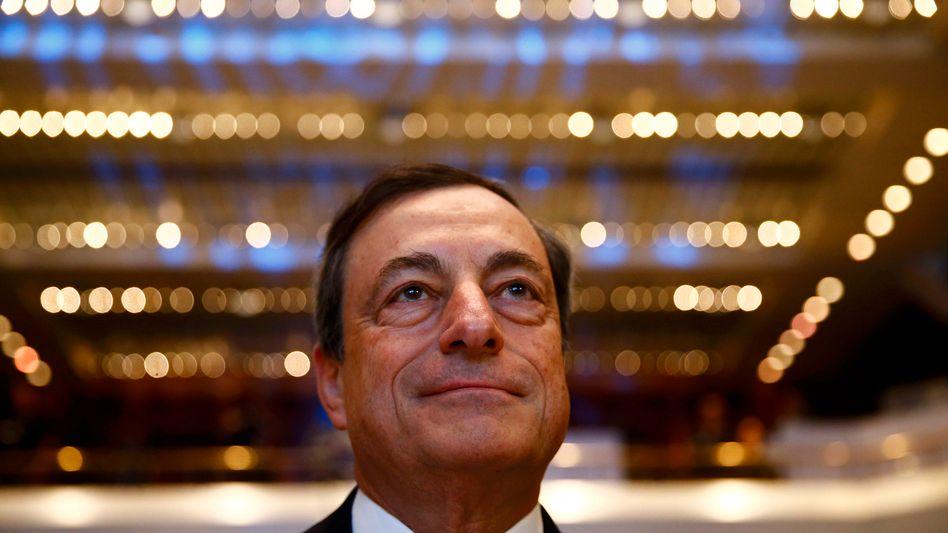 Will Anfang des Jahres über weitere geldpolitische Maßnahmen gegen die Deflation entscheiden: EZB-Präsident Mario Draghi