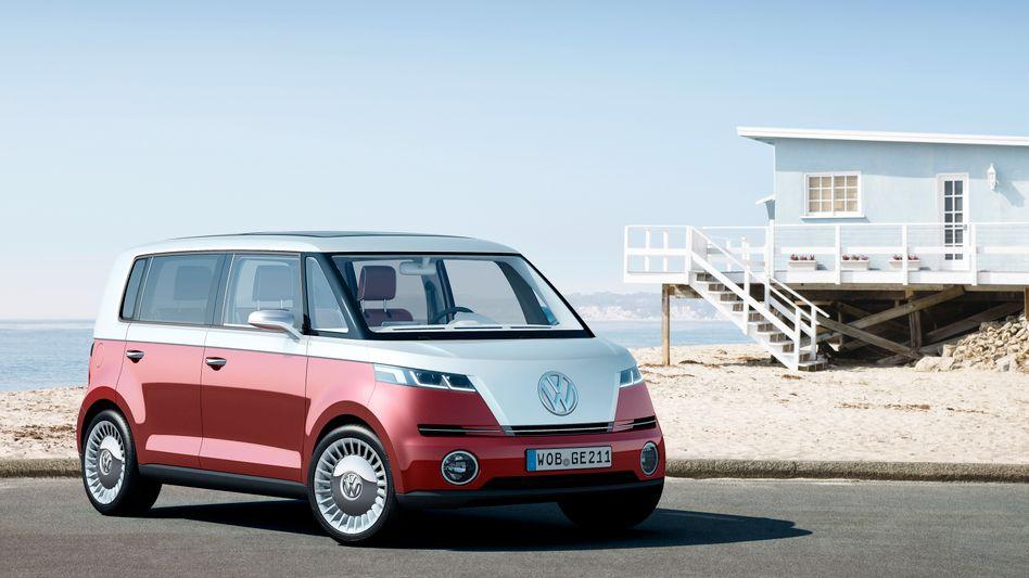 Neuauflage eines Klassikers: So präsentierte Volkswagen den Bulli vor vier Jahren