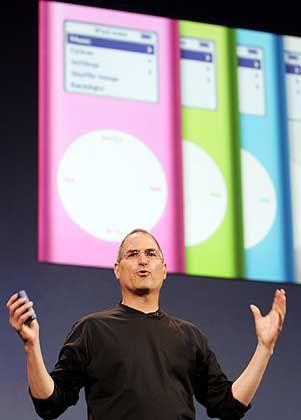 ... Apple-Chef Steve Jobs