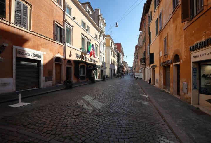 Italien verlängert strenge Ausgangssperren bis Mitte April